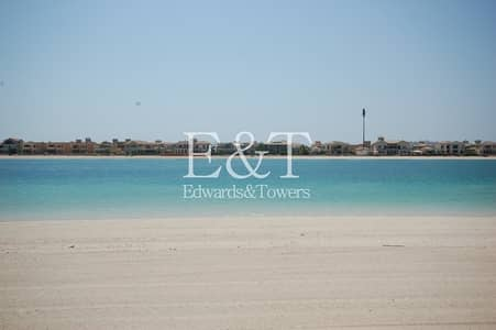 Plot for Sale in Palm Jumeirah, Dubai - EXCLUSIVE! Plot above No. 50 facing Atlantis | PJ