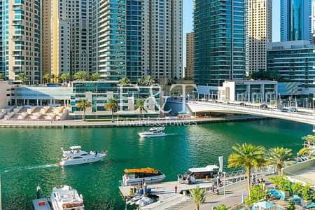 فلیٹ 1 غرفة نوم للبيع في دبي مارينا، دبي - Exclusive | Full Marina View | VOT