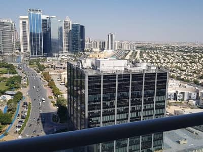 1 Bedroom Flat for Rent in Jumeirah Lake Towers (JLT), Dubai - Higher Floor | Semi Furnished | 1-Bed | City View
