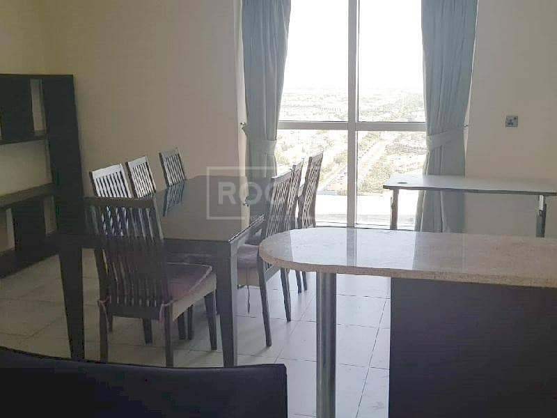 2 Higher Floor | Semi Furnished | 1-Bed | City View