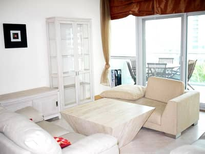 FULL MARINA VIEW FULLY FURNISHED  LARGE 1BR IN MARINA TERRACE!!!