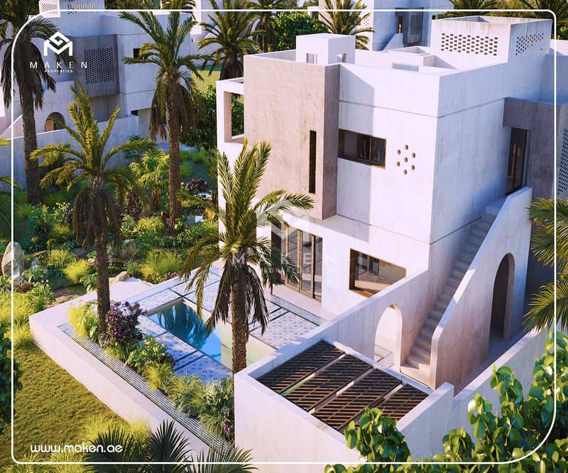 Plots & Villas in the One of the BEST Resorts in the Middle East