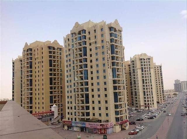 شقة في أبراج الخور عجمان وسط المدينة 2 غرف 250000 درهم - 4473209