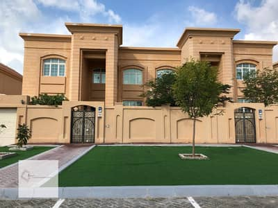 5 Bedroom Villa for Rent in Khalifa City A, Abu Dhabi - first inhabitant of the villa with private parking in and out the villa