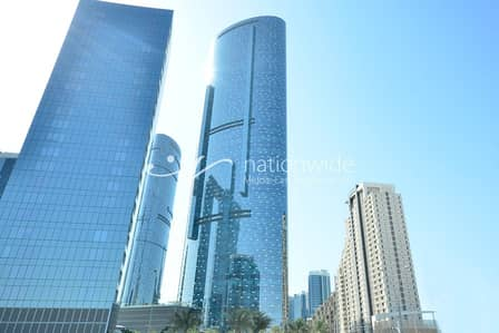 Office for Sale in Al Reem Island, Abu Dhabi - Elegant Fitted Office Space in Sky Tower