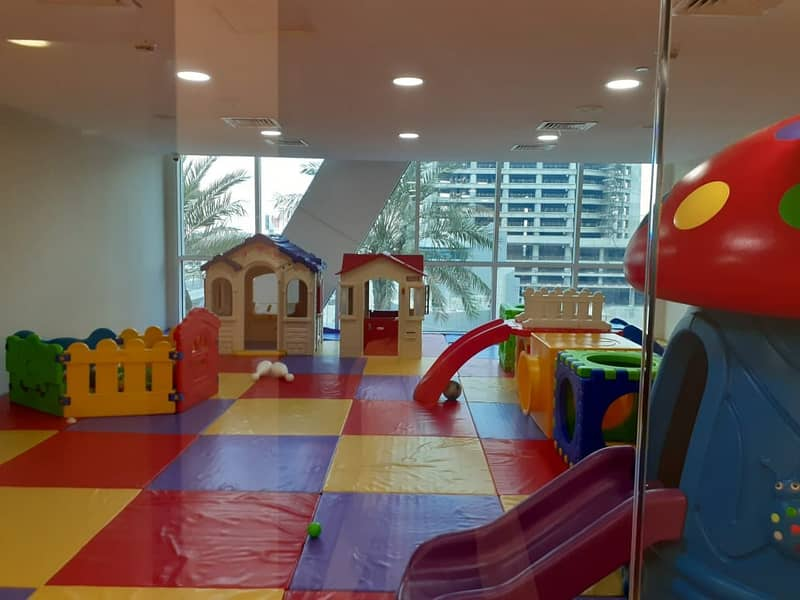 18 Kids Play Area