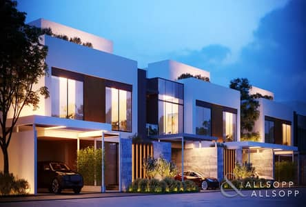 4 Bedroom Villa for Sale in Jumeirah Golf Estate, Dubai - 4 Bedroom | Corner Unit | Modern | Q4 2020