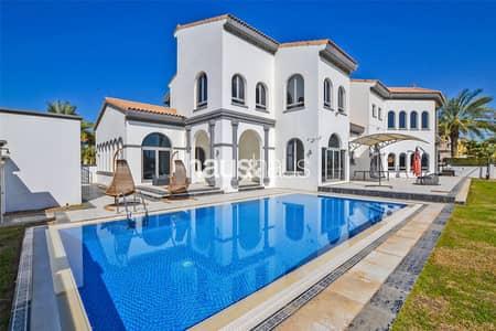 فیلا 5 غرف نوم للبيع في نخلة جميرا، دبي - Garden Lobby |Vacant| Motivated Seller | Call Sam