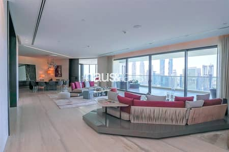 5 Bedroom Penthouse for Rent in Business Bay, Dubai - Full Floor | Unfurnished | Available April
