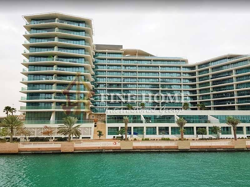 2 Amazing Sea View / Pool View / 2 BR. + M