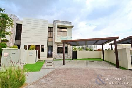 تاون هاوس 3 غرف نوم للبيع في داماك هيلز (أكويا من داماك)، دبي - 6050 SqFt Plot | TH-L | Single Row | 3 Bed