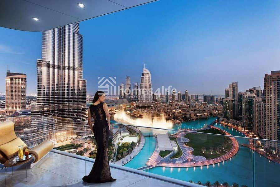 The Cheapest Apartment In Downtown With Burj Khalifa View