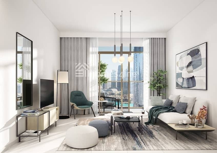 2 The Cheapest Apartment In Downtown With Burj Khalifa View
