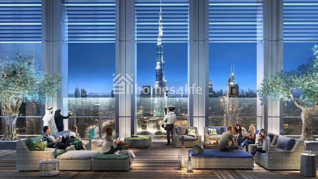 12 The Cheapest Apartment In Downtown With Burj Khalifa View