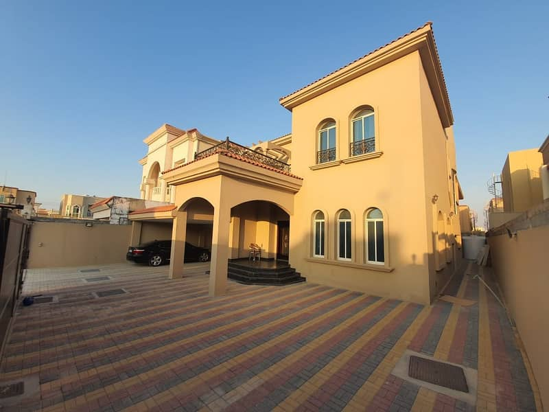 Villa for sale is very attractive finishing next to the main street with electricity and water%