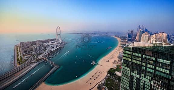 شقة 2 غرفة نوم للبيع في جميرا بيتش ريزيدنس، دبي - Sea