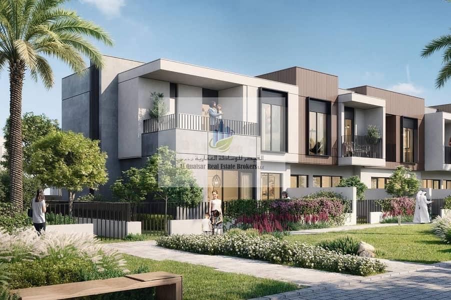 2 Offer for villas in Dubai Land installment 4 years.