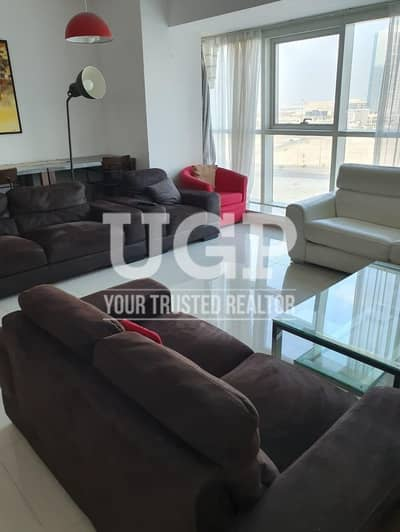 2 Bedroom Apartment for Rent in Al Reem Island, Abu Dhabi - Big Layout | Fully Furnished Apt Up to 4 Payments!