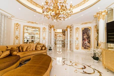5 Bedroom Villa for Sale in Palm Jumeirah, Dubai - Peace of art | Fully upgreaded | High number