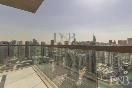 شقة 3 غرف نوم للبيع في دبي مارينا، دبي - HIGH FLR MARINA VIEW - 3 YEAR POST PLAN - 100% DLD DISCOUNT