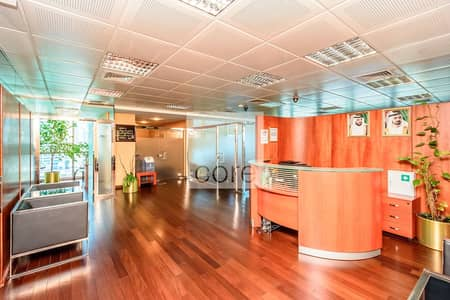 Office for Sale in Jumeirah Lake Towers (JLT), Dubai - Low Floor | Fitted Office with Partitions