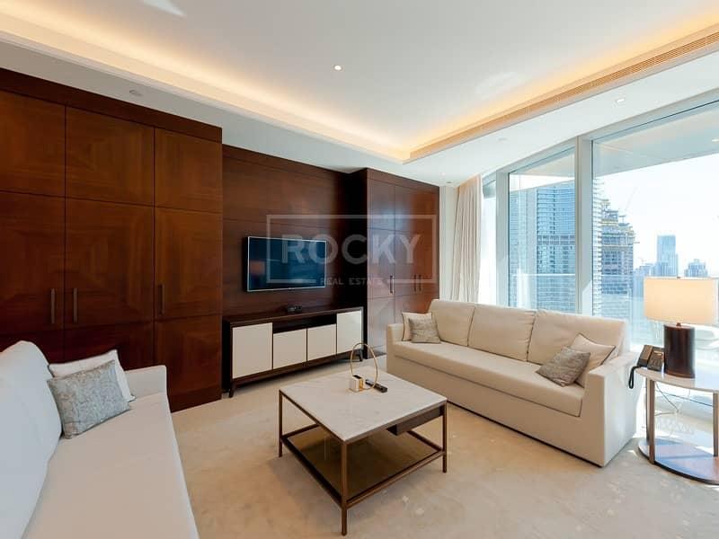 2 Higher Floor | Furnished | 3-Bed | Burj Khalifa View