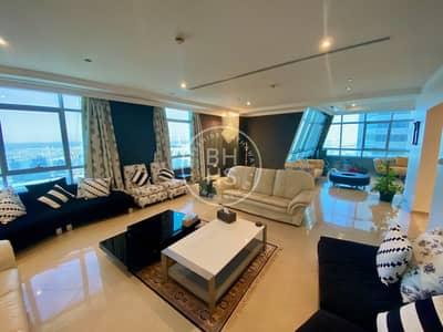 شقة 5 غرف نوم للبيع في دبي مارينا، دبي - Top Floor | Full Palm View | One Of A Kind | 5BR