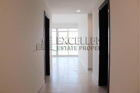 فلیٹ 2 غرفة نوم للايجار في شاطئ الراحة، أبوظبي - Huge 2BH Apt with Panoramic Sea View