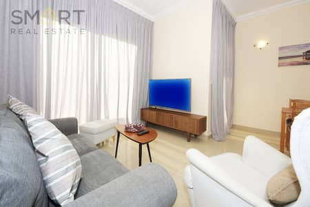 2 Bedroom Villa for Rent in Al Hamra Village, Ras Al Khaimah - Immaculately Furnished 2 Bedroom Townhouse with Stunning Swimming Pool Views