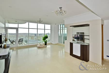 2 Bedroom Flat for Rent in Dubai Marina, Dubai - 2 Bed + Study | Part Furnished | 1700 SqFt