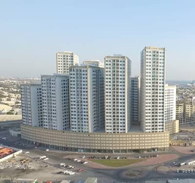 2 Bedroom Flat for Sale in Ajman Downtown, Ajman - Ajman Pearl Towers: SEA view, 2 Bed Hall (Very Hot Price) near City Centre