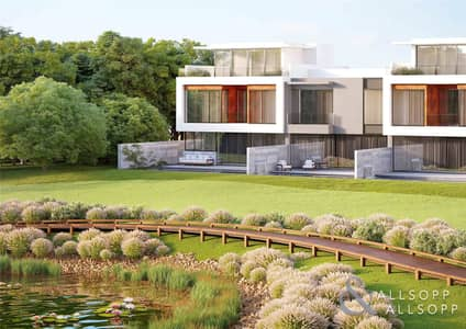 4 Bedroom Villa for Sale in Jumeirah Golf Estate, Dubai - 4 Bedroom | Corner Plot | Full Golf View