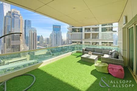 2 Bedroom Apartment for Sale in Dubai Marina, Dubai - Large Layout | Two Bedroom | Big Terrace
