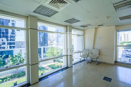 Office for Rent in Jumeirah Lake Towers (JLT), Dubai - Fitted Office | Low Floor | Prime Location