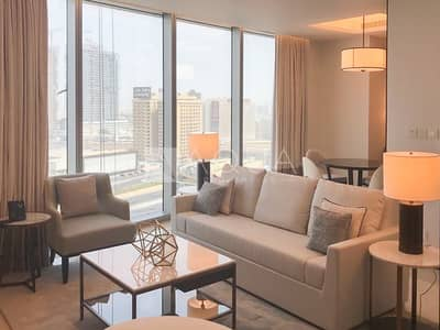 1 Bedroom Apartment for Sale in Downtown Dubai, Dubai - ONE Bedroom | Fully Furnished l Sea View