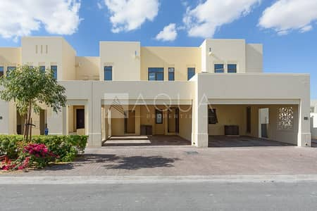 3 Bedroom Villa for Sale in Reem, Dubai - Park and Pool Facing Best Price Type A Corner Plot