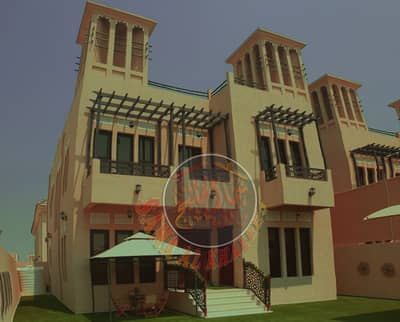 Luxury villa fully furnished with wonderful interiors - water, electricity and AC