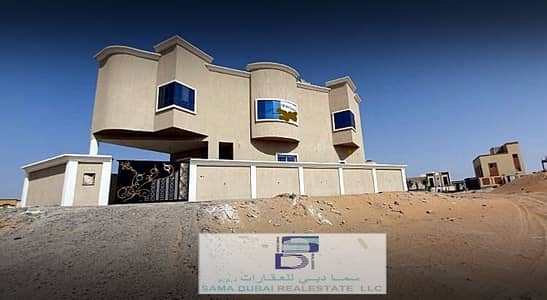 5 Bedroom Villa for Sale in Al Helio, Ajman - New Villa for Sale in Ajman - Elegant Design & Perfect price. .
