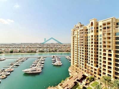 فلیٹ 2 غرفة نوم للبيع في نخلة جميرا، دبي - Vacant | Type C | Sea and Marina View