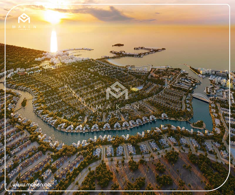 Villa for Sale = Ghantout Abu Dhabi = Full Sea View!