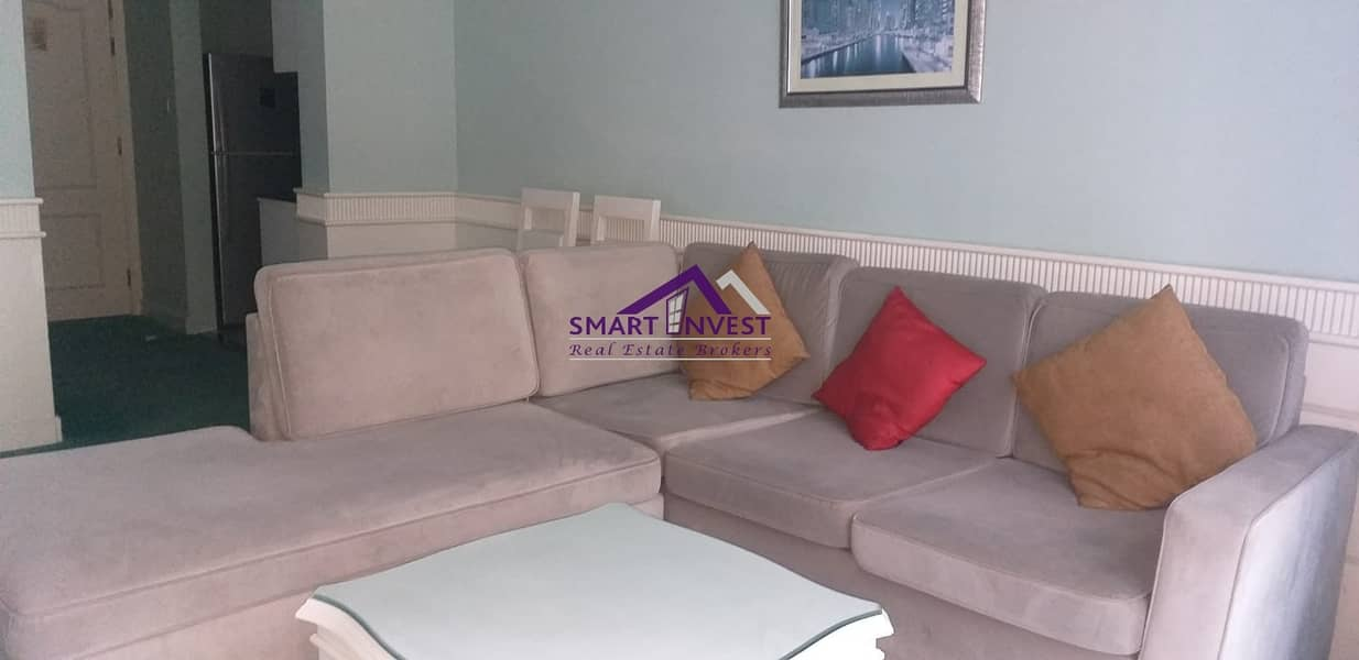 2 Fully Furnished 1 BR Hotel Apt .for rent in Barsha Heights (Tecom) for AED 60k/Yr.