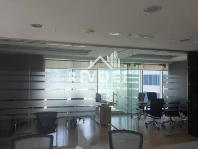 مکتب  للبيع في الخليج التجاري، دبي - Can View I Near Metro I Furnished Office for Sale in Burlington Tower