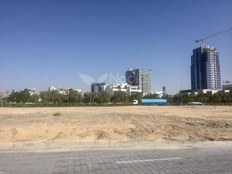 G+ 4 Approved Commercial Plot for Hospital   JVC   Dubai