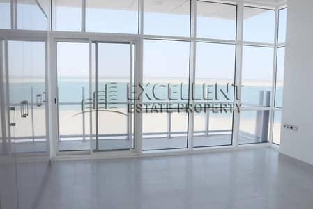 شقة 4 غرف نوم للايجار في شاطئ الراحة، أبوظبي - Panoramic Sea View| Huge Apt| Full Facilities