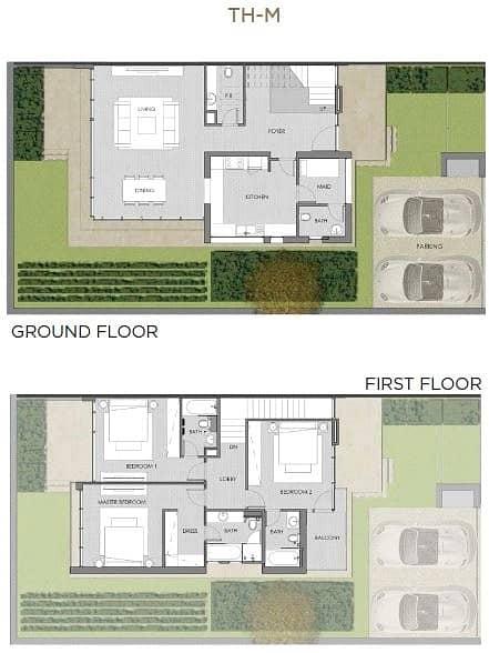 10 3 Bedroom | Internal Maids Room | End Unit