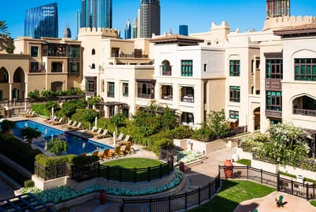 فلیٹ 2 غرفة نوم للبيع في المدينة القديمة، دبي - Rare Apartment with Plunge Pool|Spacious Floorplan