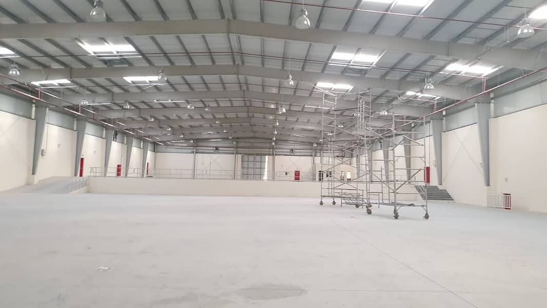 37000 sq ft Brand NEW Warehouse with state of the art finishing in Emirates Modern Industrial Area, Umm Al Quwain