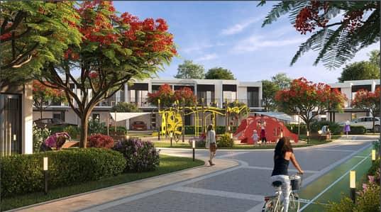 4 Bedroom Townhouse for Sale in DAMAC Hills (Akoya by DAMAC), Dubai - New Release Elan Townhouses Tilal Al Ghaf Majid Al Futtaim developer.
