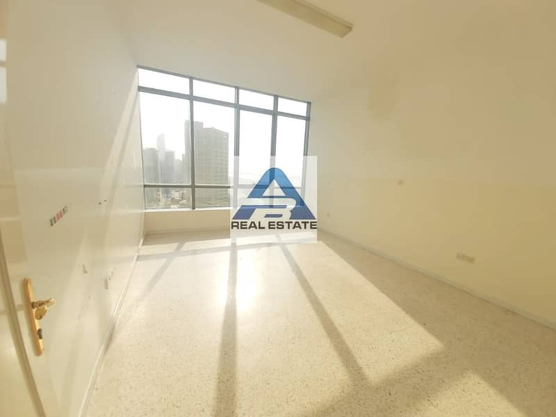 Large three bedrooms on corniche with parking near corniche hospital