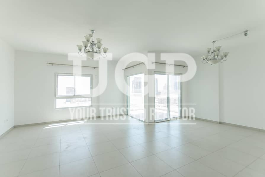 2 Big Layout 3BR with Maids Room and Huge Balcony!